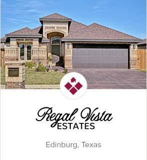 Regal Vista Estates, Edinburg new homes