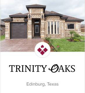 Trinity Oaks, Edinburg new homes