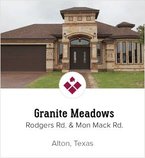 Granite Meadows Alton Subdivision