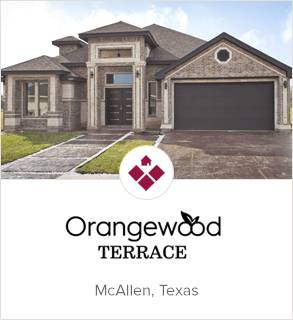 Orangewood Terrace, McAllen new homes
